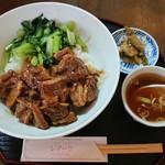 レマーリ - 料理写真:牛バラご飯 ¥700-
