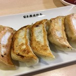 日本橋焼餃子 - 晩酌セットの「日本橋焼餃子」