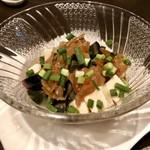 小籠包 竺 - ピータン豆腐