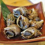 すずや はなれ - 黒バイ貝のつぼ煮