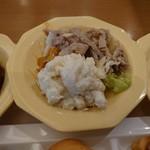 ココス - 豚肉短冊生姜焼のせサラダ