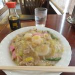111686272 - 特製皿うどん(太麺) 1080円