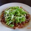 トラットリア ヴィーノ・ヴィーノ - 料理写真:イナダのカルパッチョ 500円