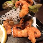 えびじまんすし名人 - 蛸の唐揚げ