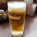 食事処 旬菜亭 - ドリンク写真:生ビール(キリン一番搾り)