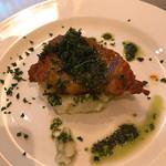 アフレンツァ - 若鶏のローストジェノベーゼソース