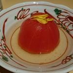 越後酒房 八海山 - 冷やしトマト