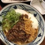 丸亀製麺 - 牛とろうどん