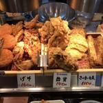 丸亀製麺 - 揚げ物コーナー