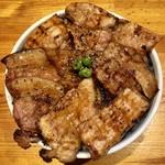 十勝亭 - 料理写真:ロース&バラ豚丼(大)