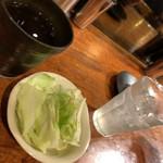 串道楽 潤 - 少食夫婦にはハーフサイズのキャベツはありがたい(笑)