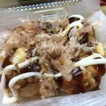大阪で1番おいしいたこやきくん - たこ焼き4個200円