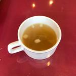111694573 - ハラミステーキ(130g)(980円)                         セットのスープ