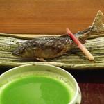日本料理 太月 - 鮎塩焼き
