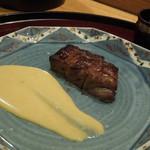 日本料理 太月 - 仙台牛ざぶとん味噌漬け