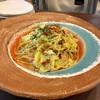 月乃井 - 料理写真:ベーコンとキャベツのペペロンチーノ(辛口)
