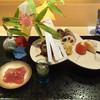 銀座 しのはら - 料理写真:八寸:千葉かつお、すっぽん、チーズ、合鴨無視ロース、もろこし揚げ、たこ、じゅんさい、れんこん