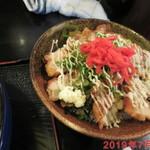 味見鶏まるめん - とりマヨ丼 +310円