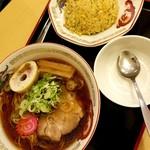 らーめん きちりん - 料理写真:チャーハンセット(正油) 1000→900円