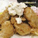 ニューほり江 - カキフライ定食