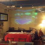 そよ風 - 80インチのスクリーンで見るスポーツは圧巻!!イベントは随時告知します。