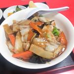 111700926 - 飯麺セット(780円)                       中華飯