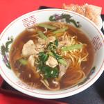 111700954 - 飯麺セット(780円)                       豚肉麺