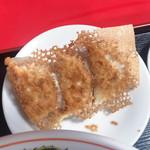 111700966 - 飯麺セット(780円)                       餃子