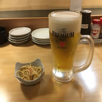 本格職人にぎり や台ずし - ビールはプレモル