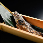 雪月花 - 岩魚の塩焼き