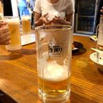 地球屋 - 生ビール
