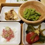 おうじバル - おまかせ前菜盛り4種