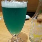 おうじバル - マリンブルーなビール