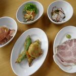 ラ・テラッツァ 芦ノ湖 - おまかせ前菜5種