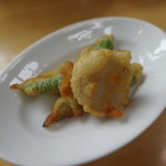 ラ・テラッツァ 芦ノ湖 - おまかせ前菜:夏野菜のフリット