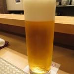 ふじ原 - 生ビール