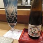 ふじ原 - 日本酒に切り替えました
