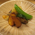 ふじ原 - グリルしたお野菜と白身魚