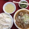 とん平食堂 - 料理写真:モツ煮込み定食