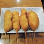 おでんと串カツ姫路のお店 - 串カツ