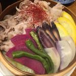 HANAICHI - 相模豚と鎌倉野菜の蒸篭蒸し