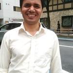 111718960 - ジャニーズ系ネパール人、Santosh。(実はタンドール料理の名人です。)