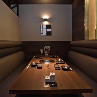 完全個室優雅なプライベート空間!VIPルーム