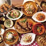 アジア料理 「フォレストガーデン」 - 2019年夏のテーマはサマーファミリーキャンプ
