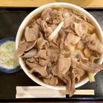 藤の家 - 肉南ばん中盛(800円)+生玉子(50円)