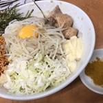 ら~めん コジマル - タレそばG+カレー粉