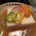 建仁寺 祇園 丸山 - 山芋で出来ています じゅんさいと共に
