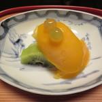 建仁寺 祇園 丸山 - 水物 マンゴーのソルベとフルーツ