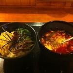 てぐたん屋 - Aセット 750円 (てぐたんスープ+ピビンパ)