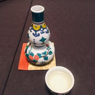 御料理 寺沢 - ドリンク写真:ポン酒1
